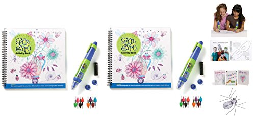 Spyro Gyro 3D Drawing Activity Book with Pen x 2 -