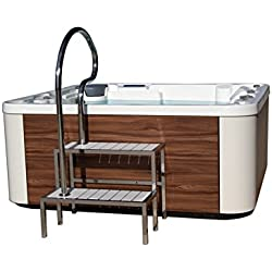 EASY ACCESS PREMIUM HOT TUB WITH 5 POSITIONS (4 SEATS / 1 LOUNGER)