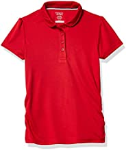 French Toast Girls Short Sleeve Stretch Moisture Wicking Polo Shirt