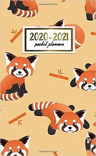 2020-2021 Pocket Planner: 2 Year Pocket Monthly Organizer ...
