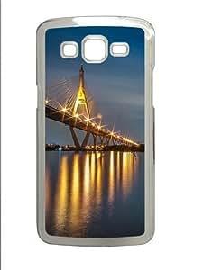 linJUN FENGBridge night Custom Samsung Grand 7106/2 Case Cover Polycarbonate Transparent