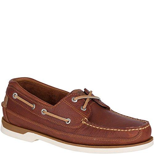 Sperry Men's Mako 2-Eye Boat Shoe, Tan, 15 M US US
