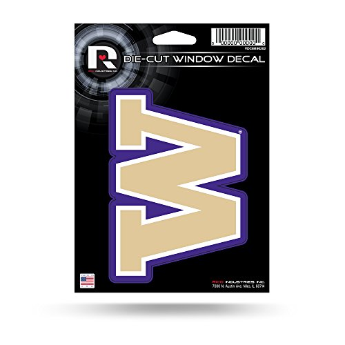 (NCAA Washington Huskies Die Cut Vinyl Decal)