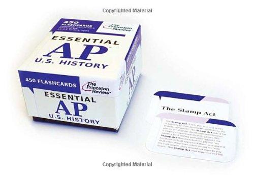 Essential AP U.S. History (flashcards) (College Test Preparation)