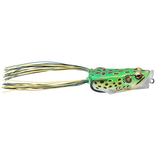 Signature Hollow Body - LiveTarget FHP55T512 Frog Body Hollow Body Popper Bait, Freshwater, 2