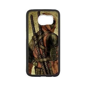 DIY Printed Deadpool hard plastic case skin cover For Samsung Galaxy S6 SN9V490803