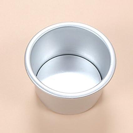 Redonda para tarta de aluminio molde, con extraíble Bottom Ronda Cheesecake pan parte inferior ánodo