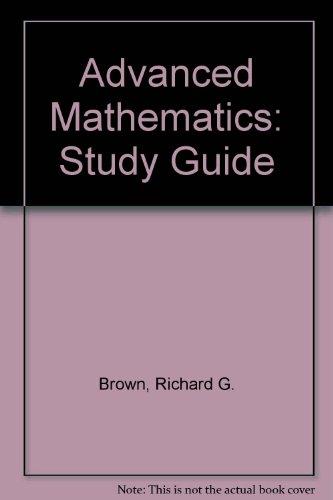 Advanced Mathematics: Study Guide