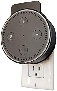Dot Genie Deluxe Mount for Amazon Echo Dot 2nd Generation Alexa: The Simplest and Cleanest High-End Outlet Wal