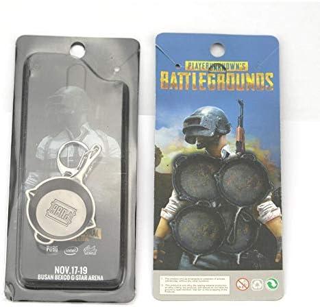 KKCV卸売ゲーム PUBG playerunknown の battlegrounds 金属キーバックル周囲装飾品ヘルメットペンダントスーツギフトキーホルダー