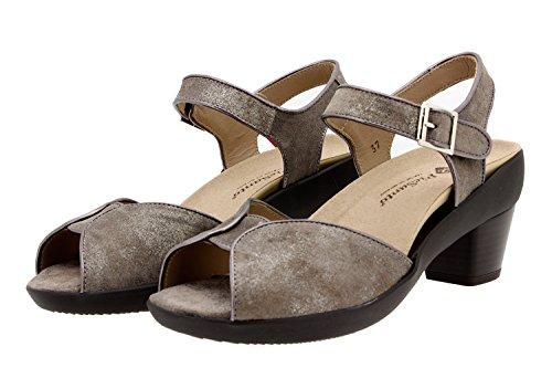 Amovible Chaussure Cuir Visón Piesanto Semelle En Confort Confortables 8443 Sandale Amples Femme 8qqdO