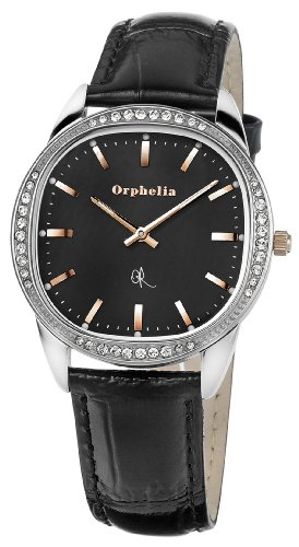 Orphelia OR53171244 - Women's Watch, Leather, Black Color