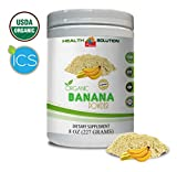 Blood Pressure Support - Organic Banana Powder - Banana Powder superfood - 1 Can 8 OZ (65 Servings)