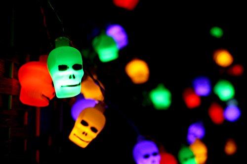 Led Skull String Lights - 7