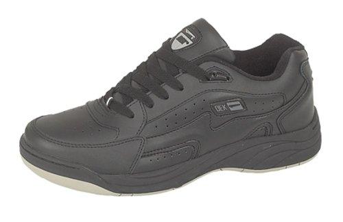 Dek - Zapatillas para hombre, color negro, talla 47