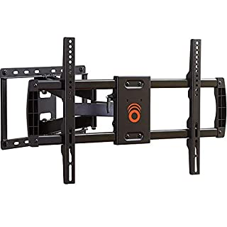 """ECHOGEAR Full Motion Articulating TV Wall Mount Bracket for TVs Up to 70"""" - Extends from The Wall 16"""" with Smooth Swivel & Tilt - Simple 3-Step Install"""