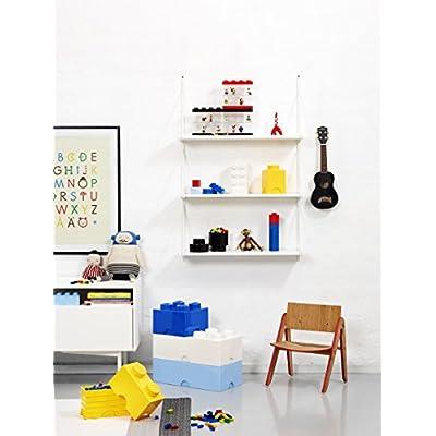 LEGO Storage Brick 4, Blue: Room Copenhagen: Toys & Games
