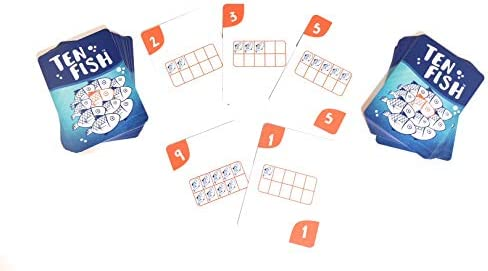 Ten Fish Card Game Family product image