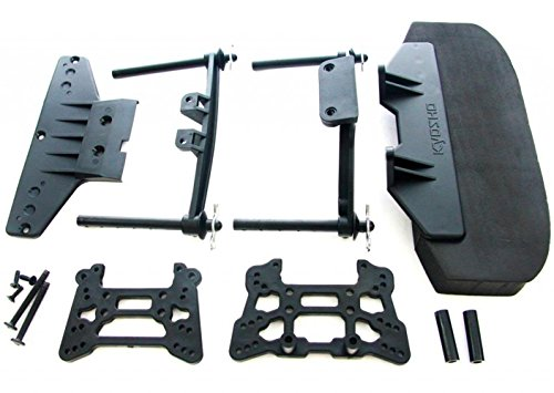 Kyosho Front Bumper (Kyosho Inferno GT2 Nitro FRONT BUMPER & SHOCK TOWERS & BODY POSTS clips rear)