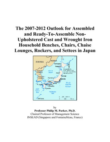 The 2007-2012 Outlook for Assembled and Ready-To-Assemble Non-Upholstered Cast and Wrought Iron Household Benches, Chairs, Chaise Lounges, Rockers, and Settees in Japan