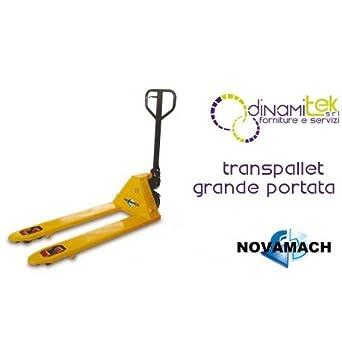 NL2 - 35 Transpaleta Manual grande portata 3500 Kg novamach Forche 540 x 1150: Amazon.es: Industria, empresas y ciencia