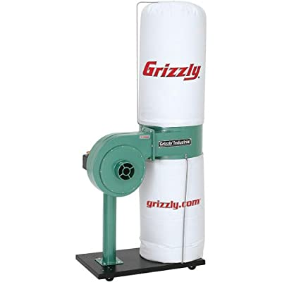 Grizzly G8027 1 HP Dust Collector from Grizzly