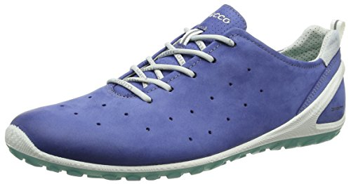 Ecco Damen Biom Lite Baskets Blau (blanc 54684royal / Ombre)