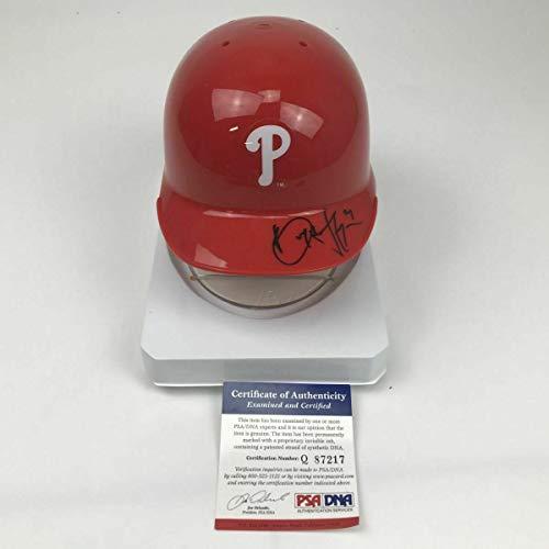 Autographed Mlb Mini Helmets - Autographed/Signed BRYCE HARPER Philadelphia Phillies Mini Helmet COA - PSA/DNA Certified - Autographed MLB Mini Helmets