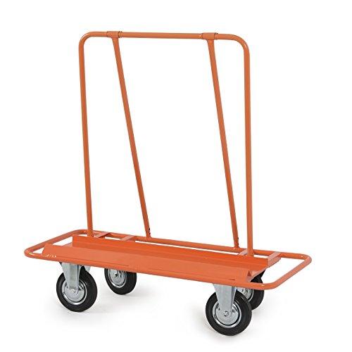ARKSEN-Professional-2000LB-Drywall-Cart-Dolly-Handling-Sheetrock-Sheet-Panel-Service-Cart-YellowOrange