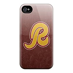 Durable Defender Case For iphone 6plus Tpu Cover(washington Redskins)