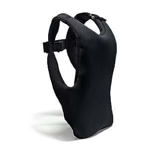 iDesk gilet-backpack para portátiles 25, 4–10–15pulgadas (38,1cm), color negro/verde