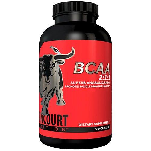 Betancourt BCAA 2 1 1 Ratio 300 Capsules by Betancourt