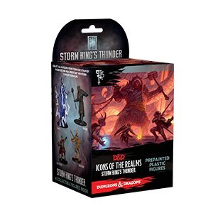 Icons of the Realms: Single Booster - Storm Kings Thunder Booster Pack D&d Miniatures