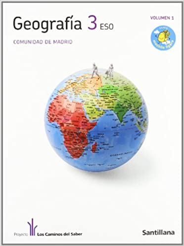 Geografía Madrid 3 Secundaria - 9788468000664: Amazon es: Vv