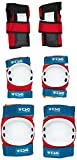 TSG - Junior-Set - Pads for Skateboard (red White Blue, one Size)