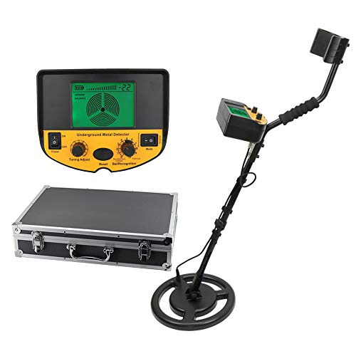 Professional Underground Metal Detector Adjustable Gold Silver Finder Treasure Hunter Seeker 2.5m Depth