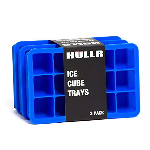 Silicone Ice Cube Tray (Blue) - 4