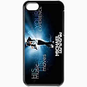 XiFu*MeiPersonalized iphone 4/4s Cell phone Case/Cover Skin Michael Jackson Man Star Celebrity Legend Minimalism BlackXiFu*Mei