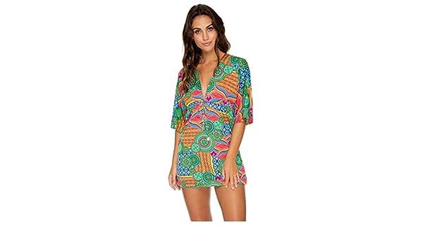 85d76ef09e Luli Fama Miami Mix - Short Dress at Amazon Women's Clothing store: