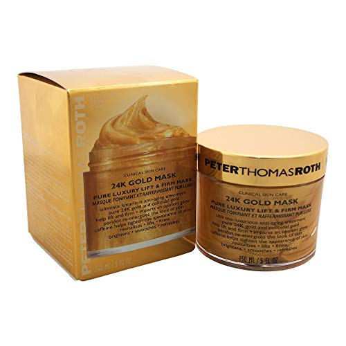 Peter Thomas Roth 24K Gold Pure Luxury Lift and Firm Mask, 5...