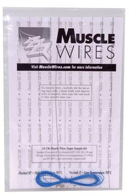 MW SUPER SAMPLER KIT ONLY,MUSCLE WIRE