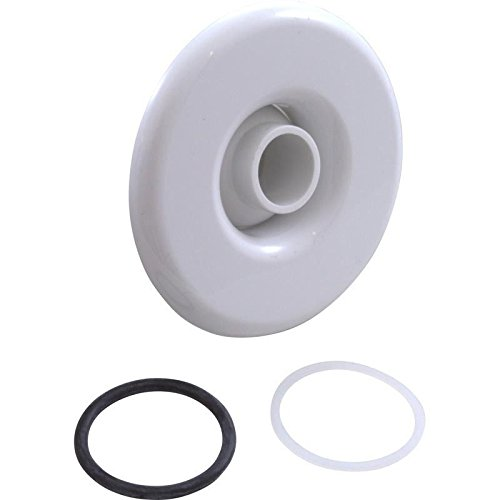 Balboa 10-3955WHT Slimline Spa Jet Escutcheon Kit White (Jacuzzi Eyeball)