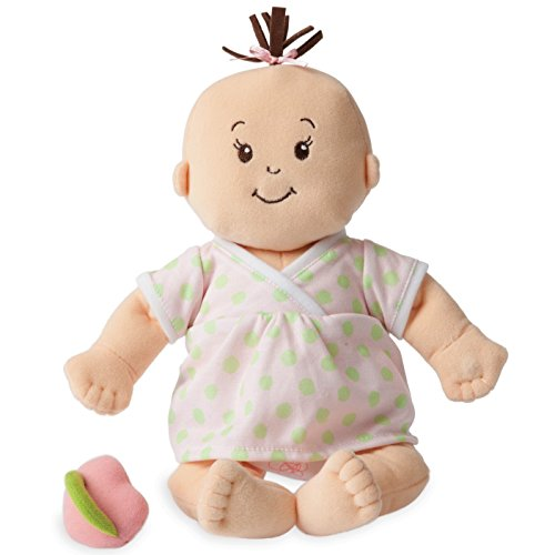 1st Doll (Manhattan Toy Baby Stella Sweet Sounds Soft First Baby Doll for Ages 1 Year and Up, 15