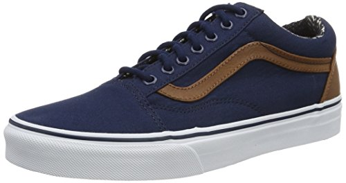 C da Uomo Old L And Blu Basse Dress Skool Mix Material Ginnastica Scarpe UA Vans Blues wB0WnIq5z5