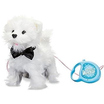 Tobar 17971 Gehender und bellender Welpe-West Highland White Terrier (Hund mit Funktion/Fernbedienung)