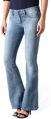 Hose Jeans Diesel für Frauen Livier-Flare Gewaschen 0069V Stretch Toll Slim Flar