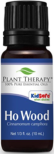 Plant Therapy Ho Wood Essential Oil 10 mL (1/3 oz) 100% Pure, Undiluted, Therapeutic Grade ()