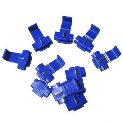0.8-2.0mm JINYANG 100 PCS Cable Clip Adapt to Line Diameter Blue