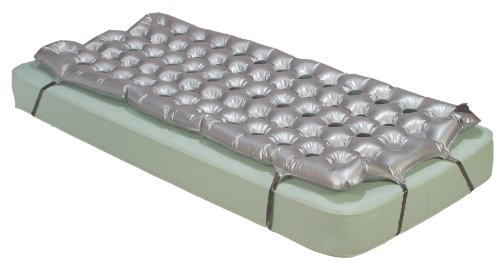 "Drive Medical Air Mattress Overlay Support Surface, 72"" x 35"" x 2.5"""