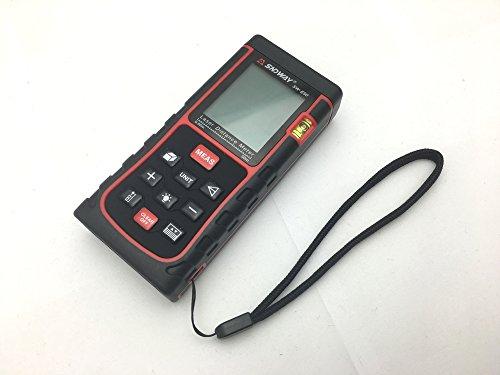 Laser Entfernungsmesser Hohe Genauigkeit : Sndway portable digital laser entfernungsmesser amazon